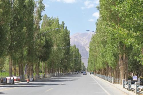 Tashkurgan empty street